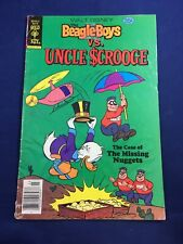 Beagle Boys vs. Uncle Scrooge # 1 Walt Disney Gold Key Comic Book March 1979