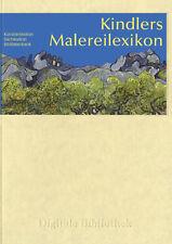 kindlers malereilexikon künstlerlexikon Cd Digital Biblioteca nr. 22