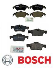 Mercedes W212 E350 E400 10-16 Sedan Wagon Front & Rear Disc Brake Pads Set Bosch