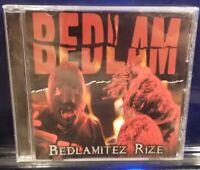 Bedlam - Bedlamitez Rize CD horrorcore prozak mastamind natas esham madness kgp
