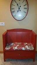 Bench Seat and Cushions for Repurposed Furniture