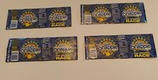 THE AMAZING RACE DIET SNAPPLE TEA LABELS SET OF (4)