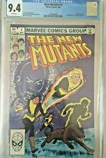 New Mutants #1 (1983) CGC 9.4 - WP Marvel - Origin:Karma-2nd App New Mutants
