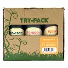 Biobizz Trypack Indoor ogni 250 ml Bio-bloom Bio-grow Top-max