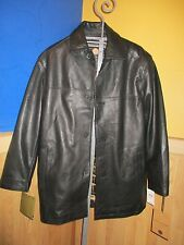 MARC NEW YORK Men's Brown Leather  Removable Liner Jacket Sz M RETAILS $575