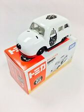 Takara Dream Tomica Tomy Snoopy White Color Diecast Toy Car - Ships From USA