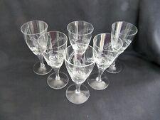 6 Vintage Etched Sherry / Port / Liqueur Glasses