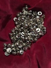 148 Half-Spherical-buttons in various sizes made from plastic Lot#4