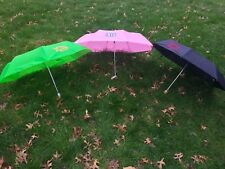 Personalized, Monogramed Umbrella in variety of colors push up embroidered