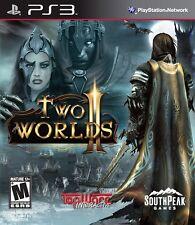 Two Worlds II Sony PlayStation 3 Video Game 2011 PS3 Southpeak Games NIB NIP