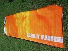2002 Absolut Mandrin Banner HUGE 116x34 Mandrin Flavored Vodka-Sweden-NOS
