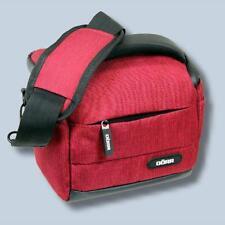 Fototasche in rot für Nikon Coolpix B700 B500 - Kameratasche Tasche Bag red dmsr