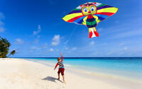 Colorful bee kite easy to fly Children toys Outdoor fun sports with Single line