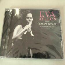 Eva Ayllón Ayllon Canta A Chabuca Granda CD RARE (En Vivo Desde Buenos Aires)