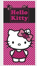 Sanrio Hello Kitty Bath Towel/Beach Towel/Hand Towel/ Sheet 140x70cm New