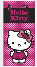 Sanrio Hello Kitty Badetuch/Strandtuch/Handtuch/Badelaken 140x70cm NEU ÖkoTexSta