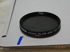 Hama 52 mm PL CIR Filtro polarizador (IV) - limpiado y revisado-Circular