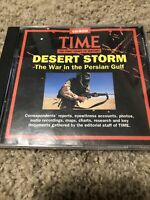Time: The First Draft Of History Desert Storm War In Persian Gulf  (CD-ROM)
