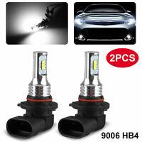 9006 HB4 LED Headlight Bulbs 100W 7000LM 6000K Super Bright Hi/Lo Beam Fog Light