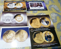 6 publicity cards for Royal Family coins & covers (20.2.36)