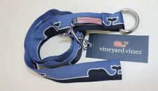 "Nwt Vineyard Vines Size Xl 41"" Boy's Blue Whale Line D-Ring Belt"