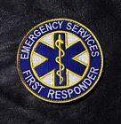EMERGENCY FIRST RESPONDER  MEDIC EMS FIRE FIGHTER EMT HOOK PATCH BY MILTACUSA