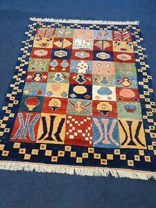 Qashqai Gabeh Rug Handmade Wool On Wool