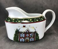 "Susan Winget ""A Christmas Story"" Porcelain GRAVY BOAT 8oz By Portmeirion- Nice~"