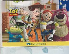CATHAY PACIFIC AIRLINES TOY STORY PROMOTIONAL PUZZLE WITH ENVELOPE