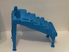 Mouse Trap Game 2005 Game Replacement Part Blue Stairway & Legs #9 MB EUC