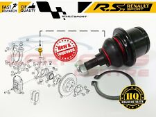 FOR RENAULT CLIO III 197 200 MEGANE 3 RS SPORT CUP FRONT UPPER BOTTOM BALL JOINT