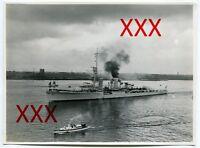 KREUZER KARLSRUHE - orig. Foto, 12,7x17,3cm, Kiel, Holtenau, vintage photo