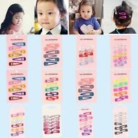 Mini Girl Baby Kids Child Princess Hair Accessories Slides Snap Hair Clips Pack