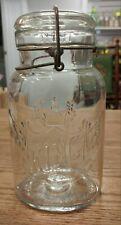 ANTIQUE SMALLEY, KIVLAN & ONTHANK BOSTON MASS. KING FRUIT JAR