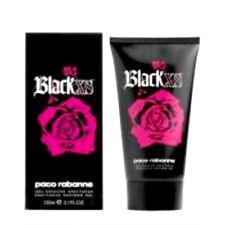 Black XS pour Elle par Paco Rabanne pour femmes Gel Douche 150 ml OVP