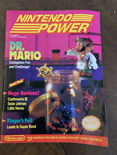 Nintendo Power Magazine Vol Volume 18 Nov/Dec 1990 Dr. Mario Mega Man III POSTER