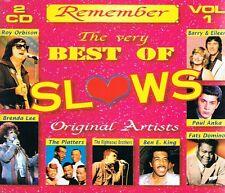 Very Best Of Slows - 2CDs NEU Zager & Evans Roy Orbison Scott Mc Kenzie Platters