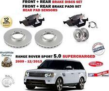para Range Rover Sport 5.0 2009-2013 NUEVO delantero + DISCOS DE FRENO TRASERO +