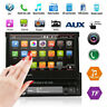 "Single 1DIN 7"" Touch Screen Bluetooth Car Stereo Radio MP5 MP3 Player FM/AM USB"