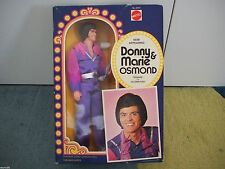 Vintage 1976 Nrfb Mattel Donny Osmond Doll from Donnie & Marie Show Original Box