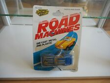 Road Champs Road Machines Corvette in Blue on Blister