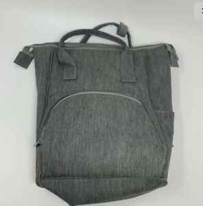 Insulated diaper bag cooler travel backpack, Maternity, New, gray formula