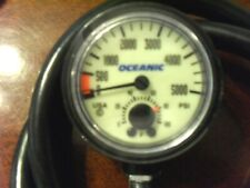 Oceanic 5,000 Psi 2 function gauge a 10.0 Mechanically & Cosmetically Sn#1032484