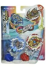 Beyblade Burst Rise Hyper Sphere Dual Packs - Left Astro A5 & Erase Devolos D5