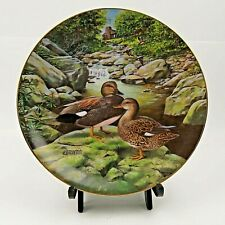 Bart Jerner The Gadwall Living With Nature Limited Edition Duck Collectors Plate