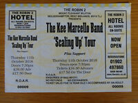KEE MARCELLO BAND CONCERT TICKET STUB 11 OCT 2018 EX EUROPE FINAL COUNTDOWN