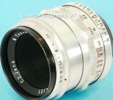 Carl Zeiss Jena TESSAR 2.8/50mm F2.8 12-BLADES M42 Screw & DIGITAL SLR fit Lens