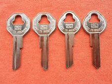 59 60 61 62 63 64 65 66 CORVAIR ELCAMINO Key Blanks