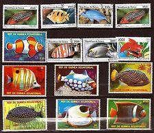 GUINEE Fish of sea - les poissons richesse de la mer   28m177b