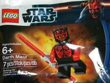 RARE lego star wars SHIRTLESS DARTH MAUL minifigure polybag SEALED exclusive